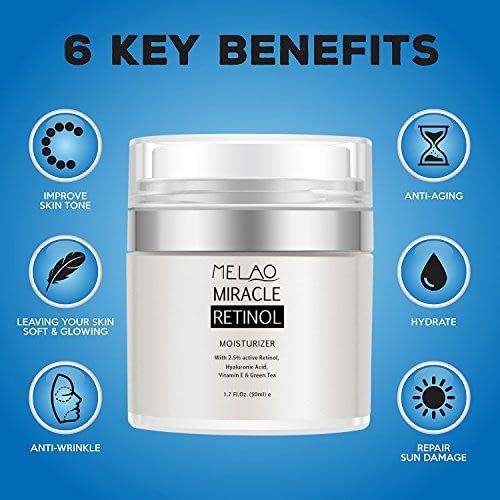 melao retinol key benefits