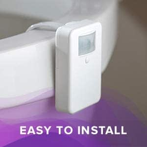 LumiLux Advanced 16-Color Motion Sensor LED Toilet Bowl Light 7
