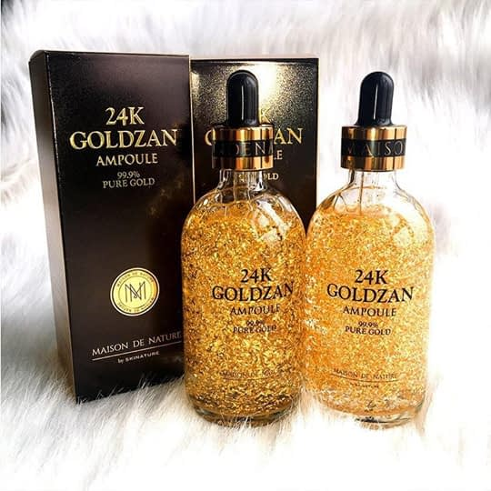 Get Youthful With the Original 24K Goldzan Ampoule Face Serum 2