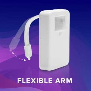 LumiLux Advanced 16-Color Motion Sensor LED Toilet Bowl Light 9