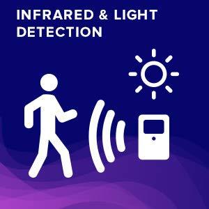 LumiLux Advanced 16-Color Motion Sensor LED Toilet Bowl Light 6