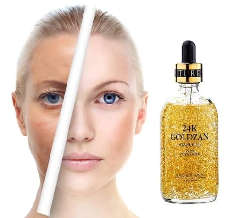 Get Youthful With the Original 24K Goldzan Ampoule Face Serum 4